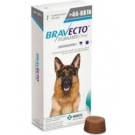 Bravecto 1000mg Chewable Tablet For Dogs 45-88lbs- 1 Dose