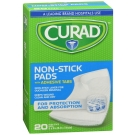 Curad Non-stick Pads With Adhesive Tabs 2 Inches X 3 Inches 20ct