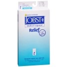 Jobst Medical LegWear Relief Knee High Compression Socks, 20-30 mmHg, Beige, Extra-Large