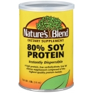 Nature's Blend 80% Soy Protein Powder, 16 Oz