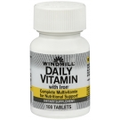Windmill Daily Vitamin Tablets With Iron 100ct
