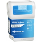 UltiGuard U-100 Insulin Syringes 30 Gauge, 1/2cc, 1/2
