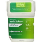 UltiGuard U-100 Insulin Syringes 30 Gauge, 1cc, 1/2
