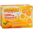 Emergen-C 1000 mg Vitamin C Dietary Supplement Fizzy Drink Mix Tangerine- 30ct