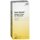 Keto-Diastix Bayer Reagent Strips for Urinalysis, Tests for Urine, Glucose, and Ketones - 100ct