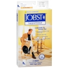 JOBST Men's Socks, 8-15mmHG Compression, Black, Large - 1 Pair