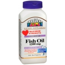 21st Century Fish Oil 1200mg, Maximum Strength 90 Softgels