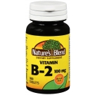 Nature's Blend Vitamin B-2 Tablets, 100 mg, 100 ct