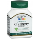 21st Century Standardized Cranberry Extract, Capsules, 60 vcaps