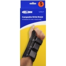 Wrist Brace Composite Black Left Small-Bell Horn ***DISCOUNTED, PACKAGE DAMAGED IN TRANSIT, ONLY 1 IN STOCK***