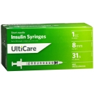 UltiCare Insulin Syringe, 31 Gauge, 1cc, 5/16