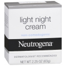 Neutrogena Light Night Cream 2.25oz