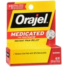 Orajel Mild Toothache Relief Medicated Gel, 0.25 Oz