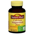 Nature Made Calcium, Magnesium & Zinc, Tablets 100ct