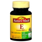 Nature Made Vitamin E 400 I.U. Softgels Natural 100ct