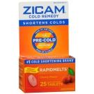 Zicam Cold Remedy Rapidmelts Cherry 25 ct