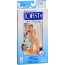 Jobst UltraSheer, Knee High, 15-20mmHG Compression, Natural, Large, 1 Pair