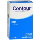 Ascensia Contour Control High Solution - 2.5ml