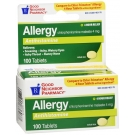 GNP 4 Hour Allergy Relief 100 Tablets