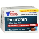 Good Neighbor Pharmacy Ibuprofen 200mg Tablet  50ct
