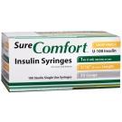 SureComfort Insulin Syringe 30 Gauge, 1cc, 5/16