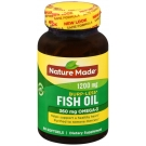 Nature Made Omega-3 Fish Oil 1200 Mg Odorless Softgels - 60ct