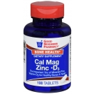 GNP Cal Mag Zinc +D3 Tablets 100ct