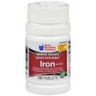 GNP Iron 65 mg Supplement Tablets 125 ct