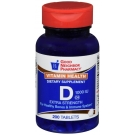GNP Vitamin D3 1000 IU Tablets 200ct