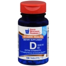 GNP Vitamin D3 1000 IU Tablets 100ct