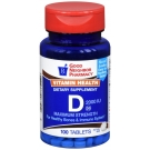GNP Vitamin D 2000 IU Tablets 100ct