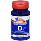 GNP Vitamin D 5000 IU Tablets, 100 ct