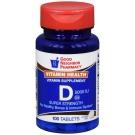 GNP Vitamin D 5000 IU Tablets, 100 ct