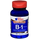 GNP Vitamin B-1 100mg Tablets, 100ct