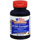 GNP Vitamin B-100 Complex Supplement Prolonged Release Tablets 50 ct