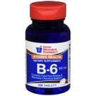GNP Vitamin B-6 100mcg 100 Tablets