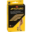 Futuro Energizing Ultra Sheer Pantyhose For Women Mild Large Nude - 1 Pair