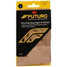 Futuro Energizing Ultra Sheer, Knee Highs for Women, Mild-Nude, Small