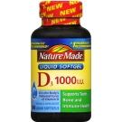 Nature Made Vitamin D-3 1000 IU Softgel - 300ct