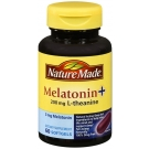 Nature Made Melatonin with 200mg L-theanine Softgel - 60ct