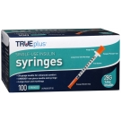 TRUEplus Insulin Syringes 28 Gauge, 1cc, 1/2