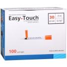 EasyTouch Insulin Syringe 30 Gauge, .5cc, 5/16