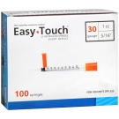 EasyTouch Insulin Syringe 30 Gauge, 1cc, 5/16