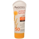 Aveeno Protect + Hydrate Lotion Sunscreen with Broad Spectrum SPF 50