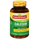 Nature Made Calcium Petites Softgels, 200mg, 180 ct
