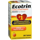 Ecotrin 325 mg Regular Strength, Tablets- 300ct
