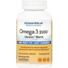 Ocean Blue Omega 2100 Nutritional Supplement, 120 Count, Orange Flavor