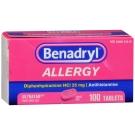 Benadryl Allergy 25 mg Ultratab 100ct