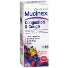 Mucinex Children's Congestion & Cough Liquid, Berrylicious, 6.8 oz