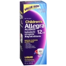 Allegra Children's Allergy Non-Drowsy Oral Suspension, Berry- 8oz